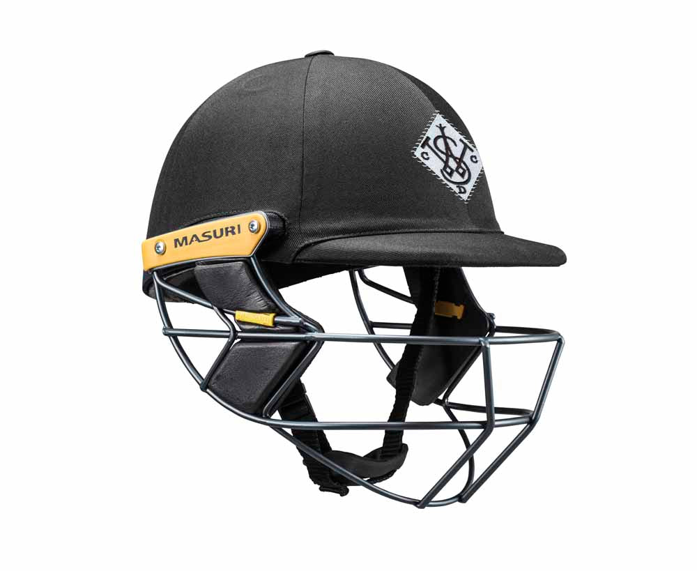 Masuri Original Series MK2 SENIOR Test Helmet with Steel Grille - Western Suburbs CC