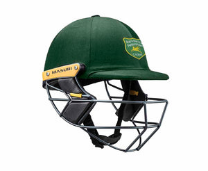 Masuri Original Series MK2 SENIOR Test Helmet with Steel Grille - Randwick Petersham CC