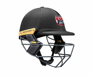 Masuri Original Series MK2 SENIOR Test Helmet with Steel Grille - North Sydney CC