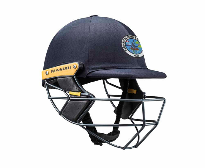 Masuri Original Series MK2 SENIOR Test Helmet with Steel Grille - Parramatta District CC