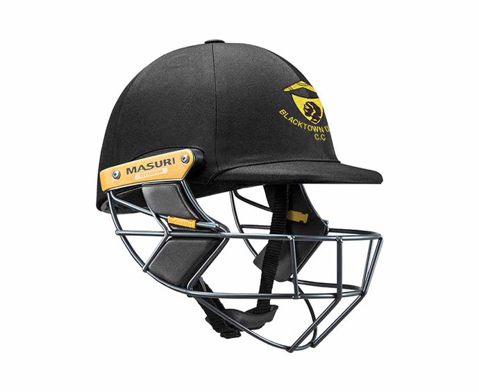 Masuri Original Series MK2 SENIOR Test Helmet with Titanium Grille - Blacktown CC