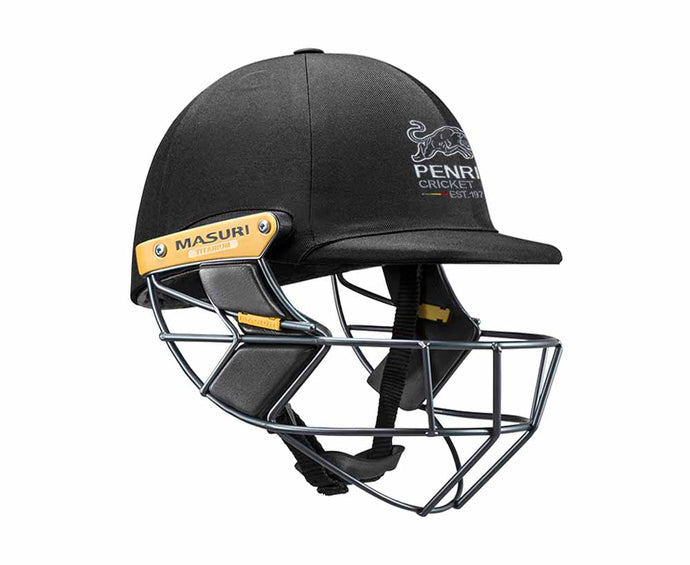 Masuri Original Series MK2 SENIOR Test Helmet with Titanium Grille - Penrith CC