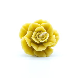Big Rose  - Beeswax Candle