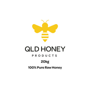 Honey - 100% Pure Raw Qld Honey 20kg Bucket