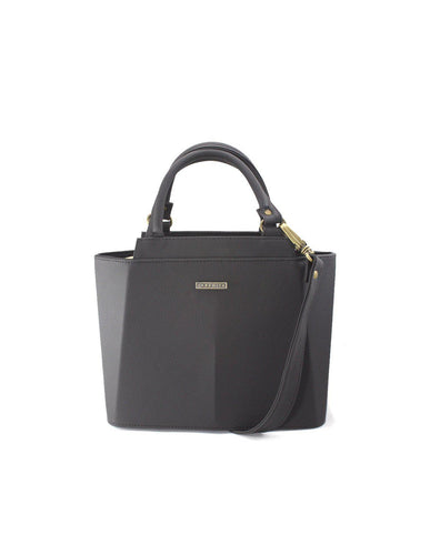 Cartera Piramidal Mini Negro - Parchita | Paciflora