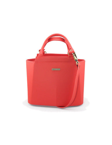 Cartera Piramidal Mini Rojo - Parchita | Paciflora