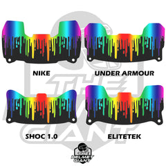 Color Run Drip Visor Skin
