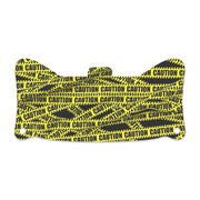 Caution Tape Visor Skin