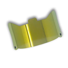 Yellow Mirror 1.0 Football Visor | SHOC
