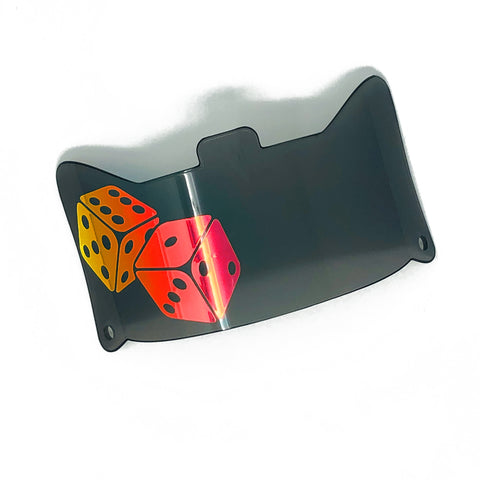 SHOC 1.0 Roll the Dice Football Visor