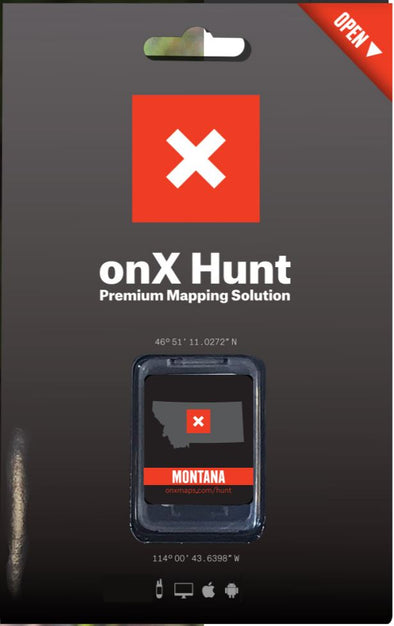 OnX Maps Premium Full Solution GPS Chip- Montana