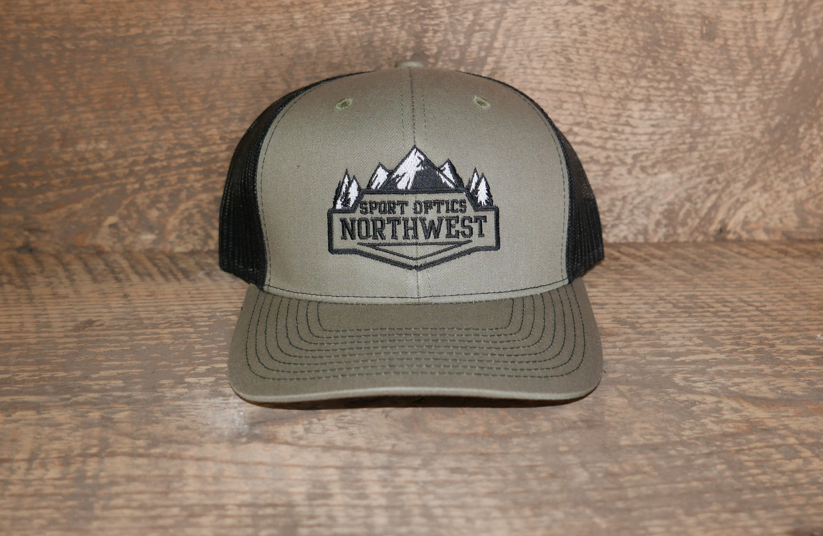 Embroidered Trucker Hat  5c05f947cd2