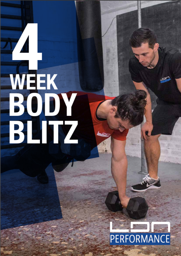 Men's 4 Week Body Blitz - LDN Performance