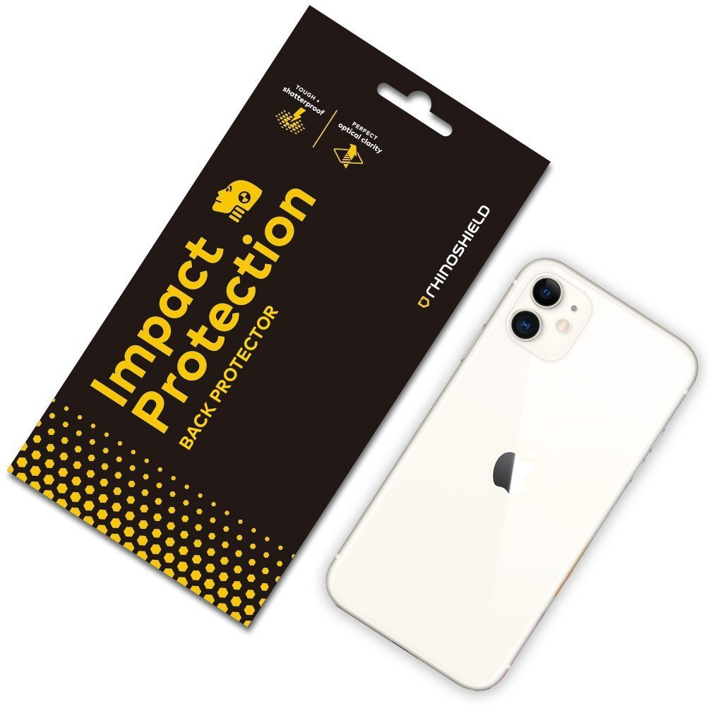 RhinoShield Impact Resistant Screen Protector for iPhone 11 / XR