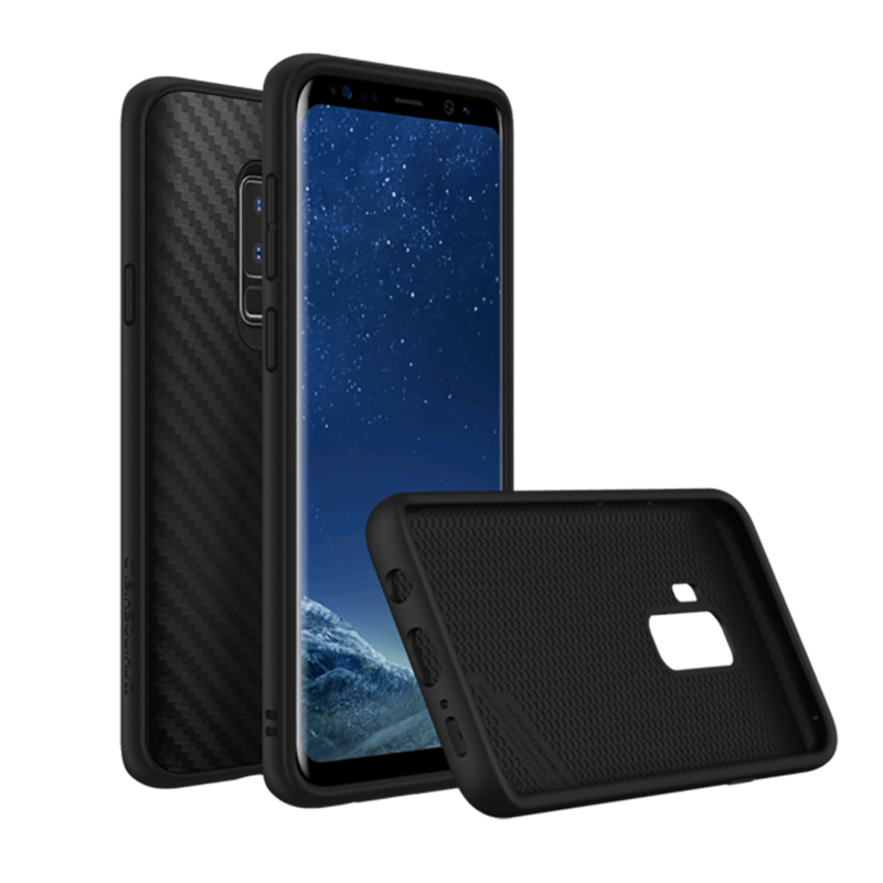 RhinoShield - SolidSuit for Samsung Galaxy S9 Plus - Carbon Fiber