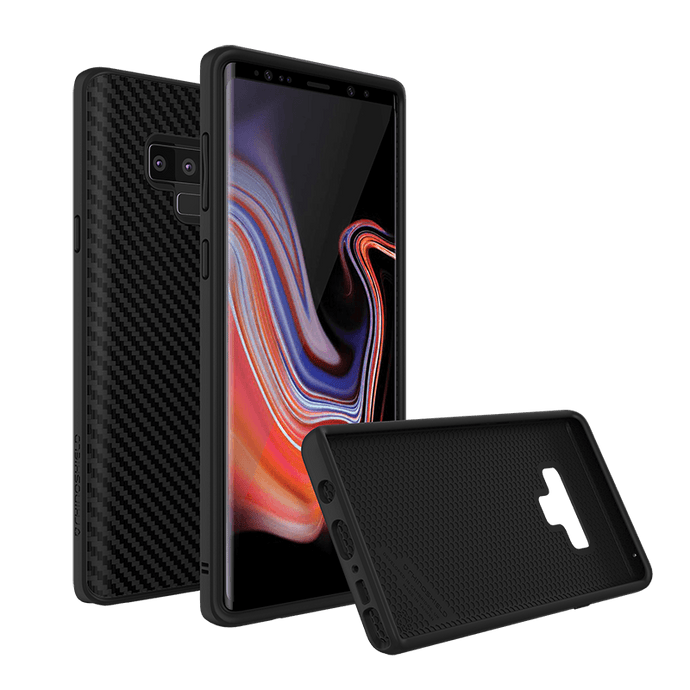 RhinoShield - SolidSuit for Samsung Galaxy Note 9 - Carbon Fiber