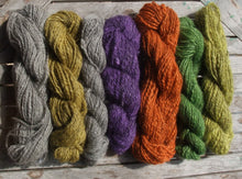 Load image into Gallery viewer, Spun Yarn, Gotland wool Double Knitting, Aran or Chunky weight