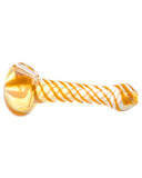Orange Swirl Hand Pipe - flight24llc