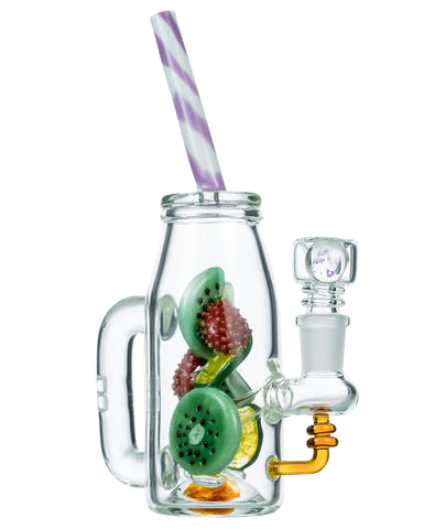 Empire Glassworks - Fruity Detox Bong - Lime - Flight 24 LLC