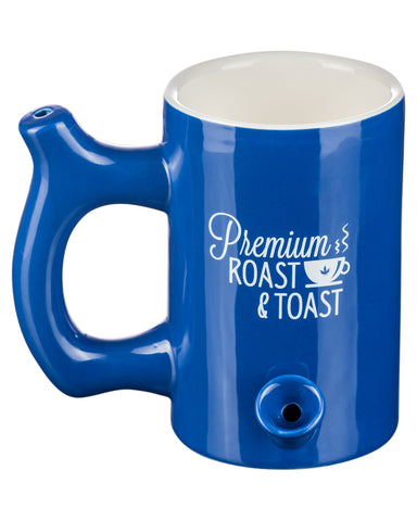 Roast & Toast - Large Original Pipe Mug in blue - Flight 24 LLC