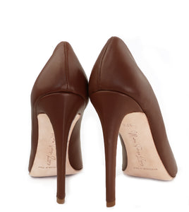 NUDE E Leather Pumps