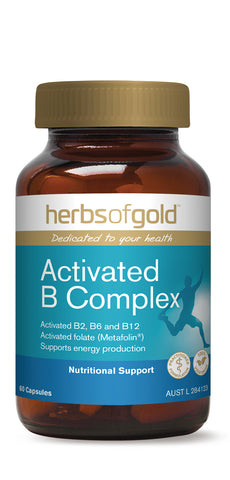 HOG ACTIVATED B COMPLEX 60T - Qld Discount Vitamins