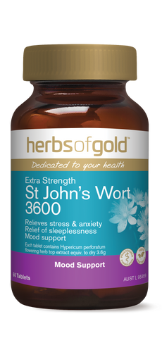 HOG ST JOHNS WORT 3600 60 - Qld Discount Vitamins