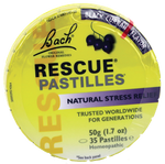 BACH RESCUE REMEDY PASTILLES - Qld Discount Vitamins