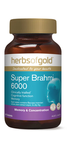 HOG SUPER BRAHMI 6000 60 - Qld Discount Vitamins