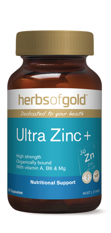 HOG ULTRA ZINC PLUS 60 - Qld Discount Vitamins