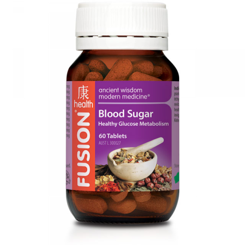 FUSION BLOOD SUGAR 60CAPS - Qld Discount Vitamins
