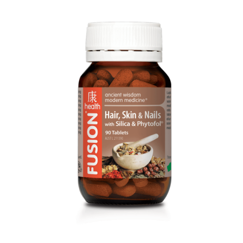 FUSION HAIR SKIN and NAILS 60CAP - Qld Discount Vitamins