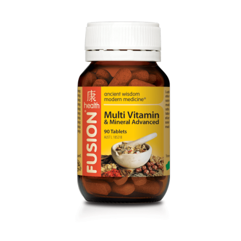 FUSION MULTI and MINERAL ADV 90TAB - Qld Discount Vitamins