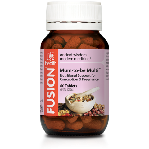 FUSION MUM-TO-BE 30T - Qld Discount Vitamins