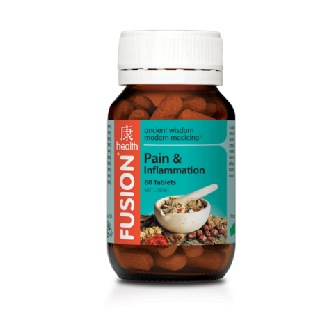 FUSION PAIN AND INFLAM 60TAB - Qld Discount Vitamins
