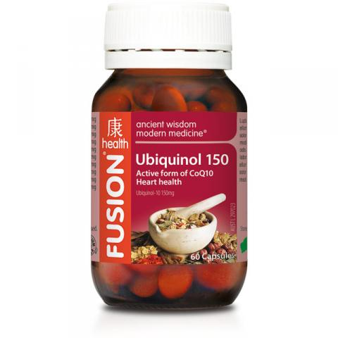 FUSION UBIQUINOL 150 60CAPS - Qld Discount Vitamins