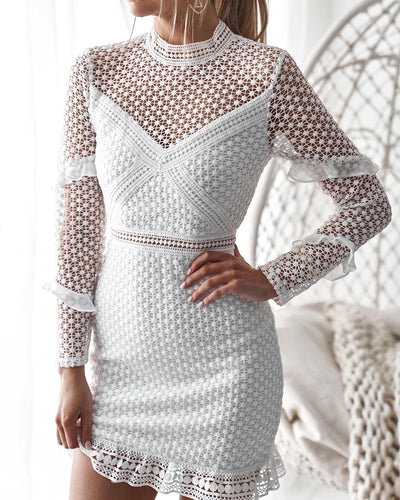 Isla Dress - WHITE