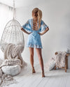 Jennie Dress - Baby Blue