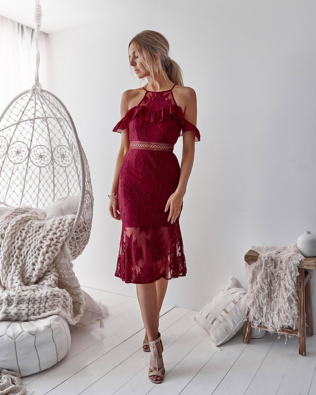 Connie Dress - Red