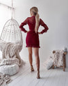 Isla Dress - RED