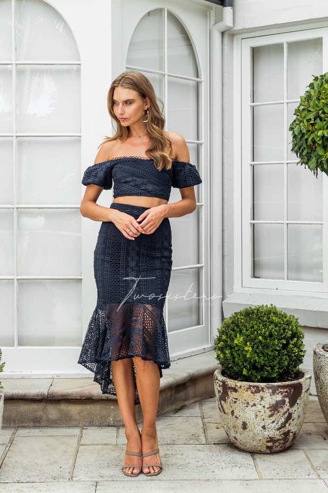 Serena Set - Navy