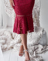 Tia Dress - RED