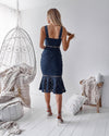 Tia Dress - Navy