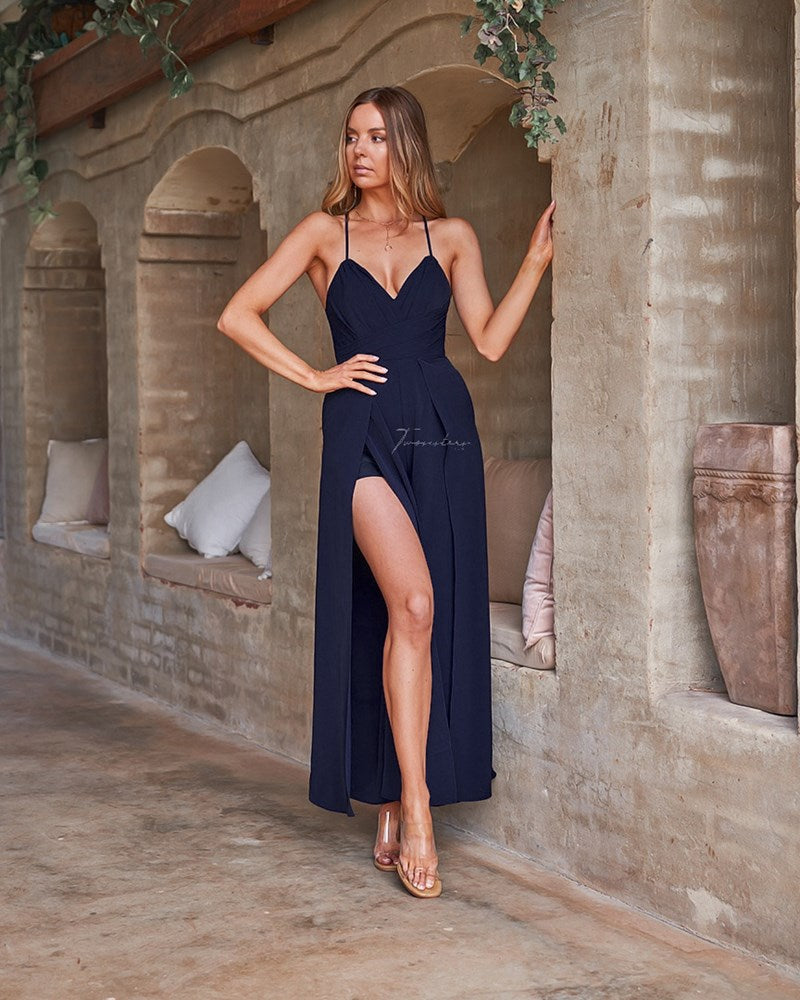 Delaney Jumpsuit - Navy