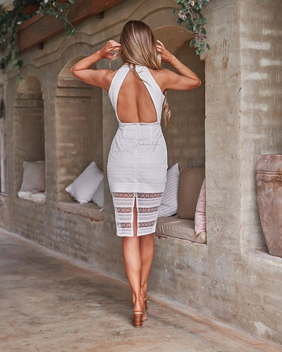 Tamsin Dress - White