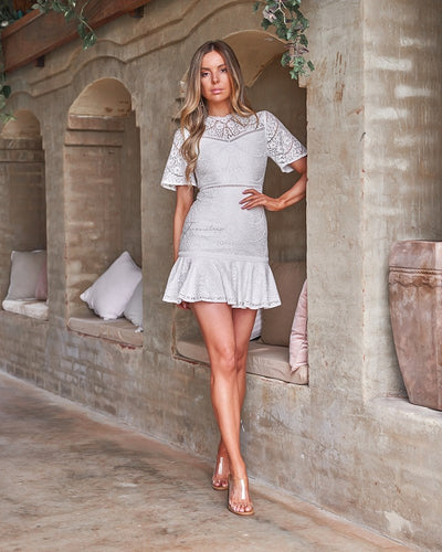 Alyssa Dress - White
