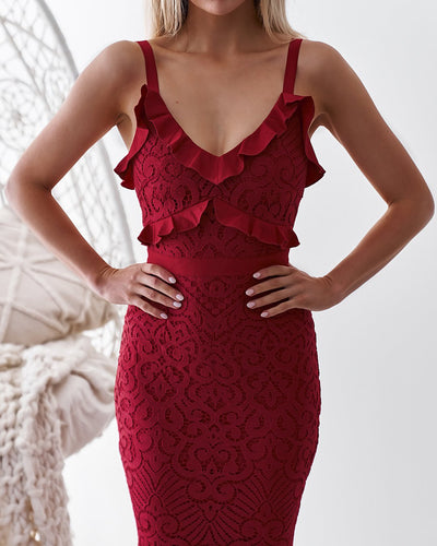 Leanne Dress - RED