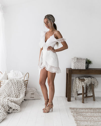 Marin Dress - White