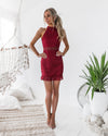 Rivers Dress -  RED
