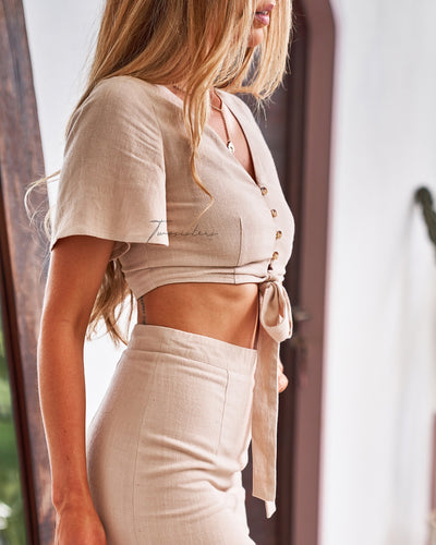 Twosisters The Label Fergie Set Beige